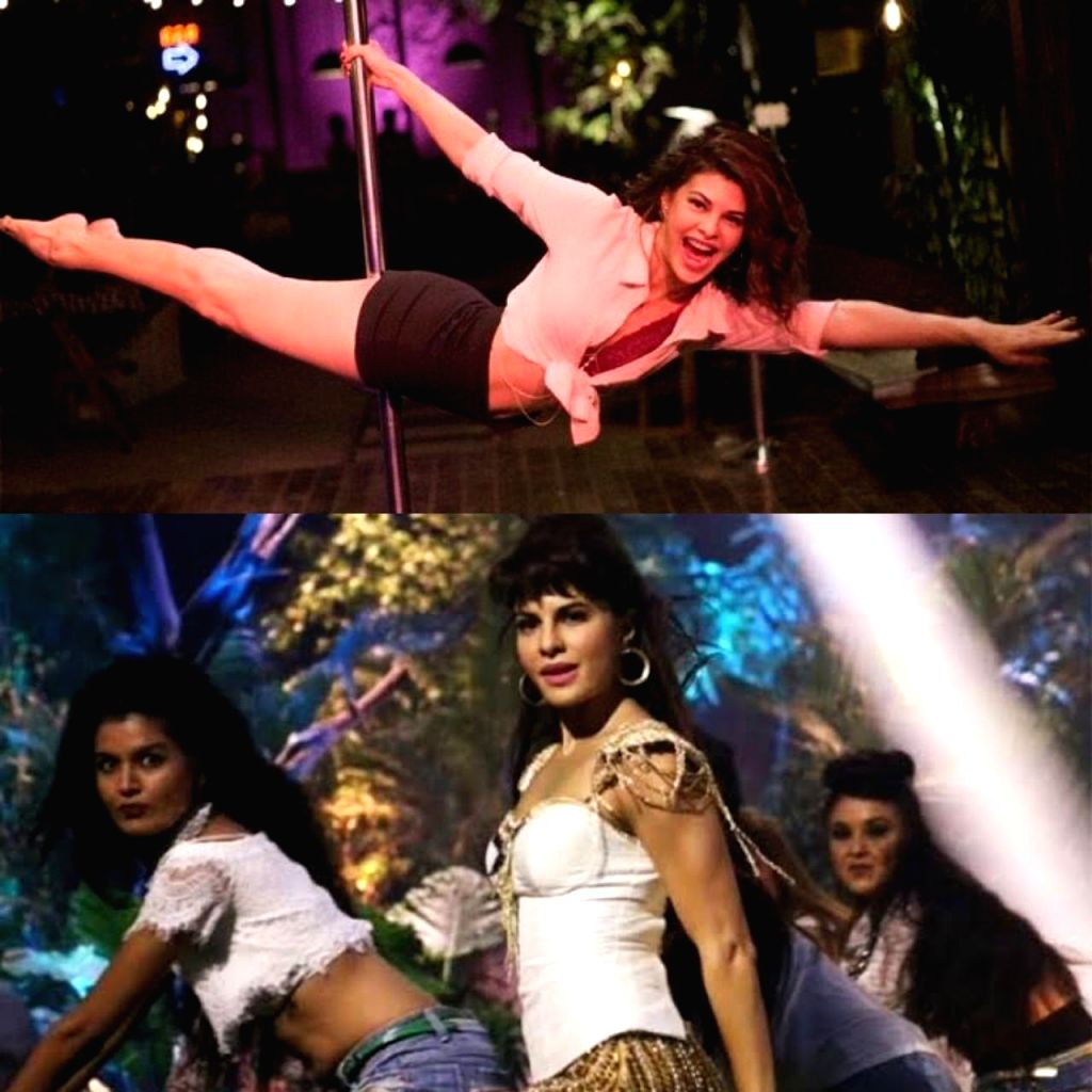 Jacqueline Fernandez celebrates anniversary of her two hit songs.