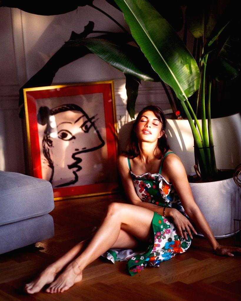 Jacqueline Fernandez soaks in the glow