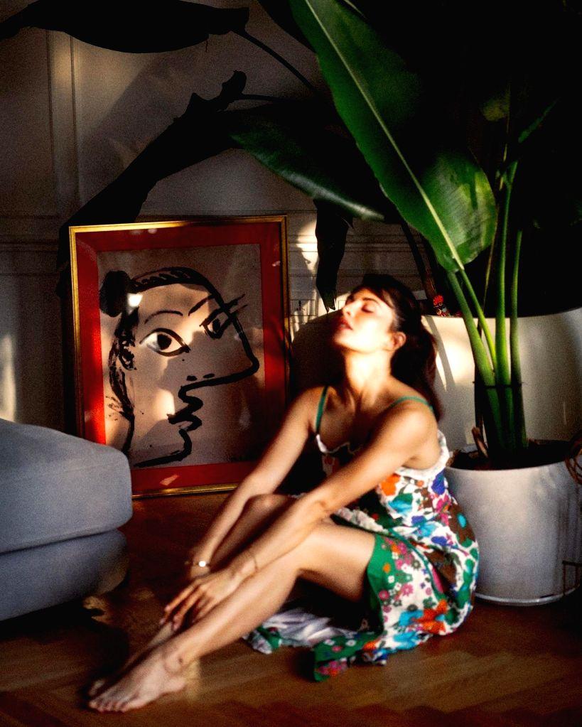 Jacqueline Fernandez soaks in the glow (Photo:Instagram)