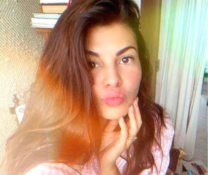Jacqueline posts 'Monsoon Sunday' selfie.