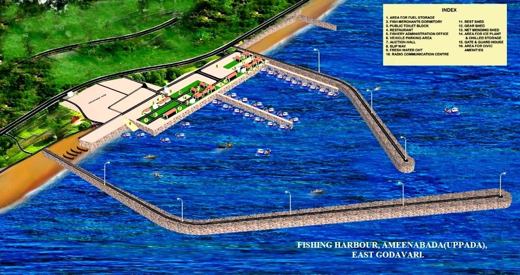 Jagan lays foundation for fishing harbours, hubs.