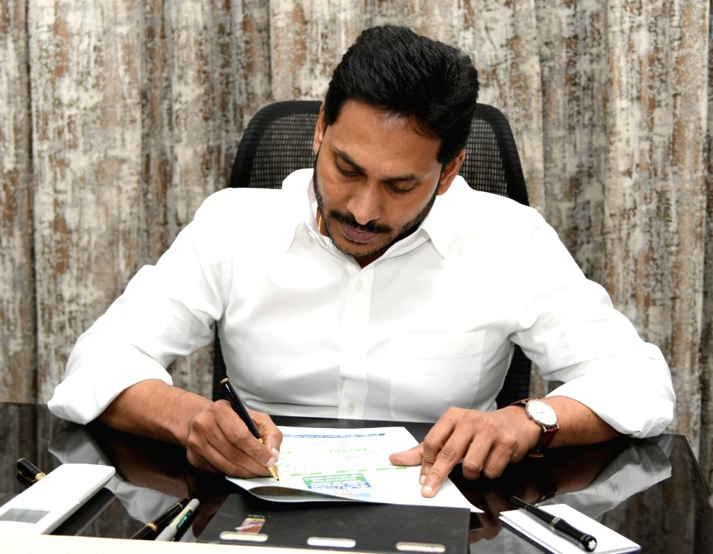 Jagan writes personalized letters to woo Tirupati voters