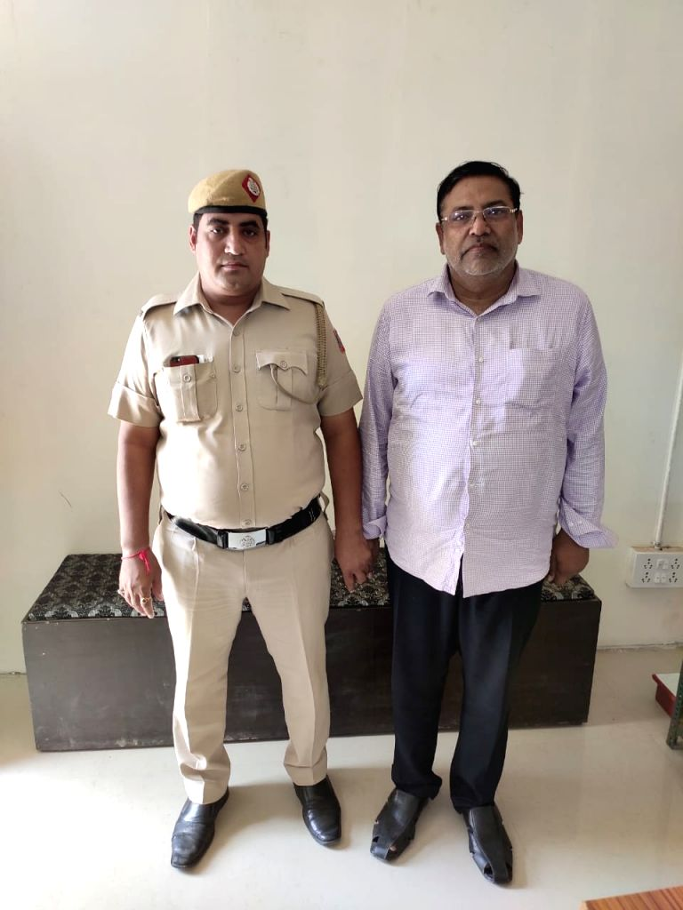 Jagat Basmati Rice owner Santlal Aggarwal.