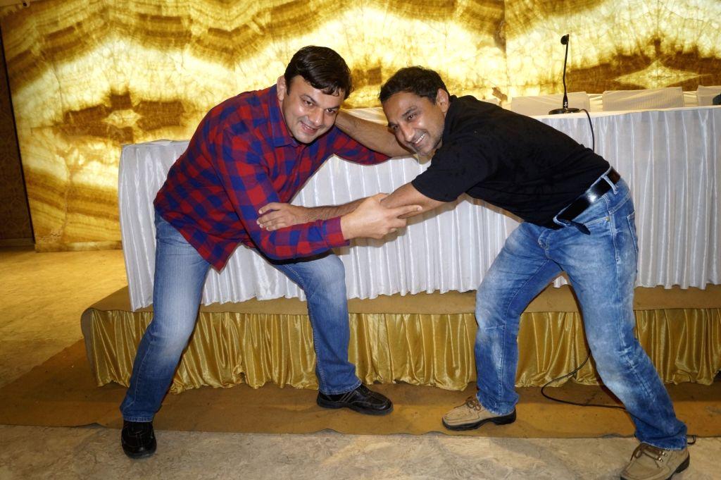 Jagjit Kaliraman who gave training to Salman Khan in Sultan and Kripa Shankar Patel who trained Amir Khan for Dangal will play Ramleela characters during a programme organised by Luv Kush ... - Salman Khan and Kripa Shankar Patel