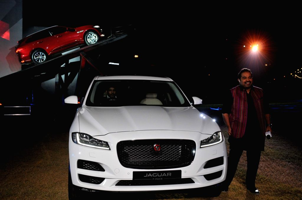 Jaguar F-Pace SUV launched in Mumbai on Oct 20, 2016.