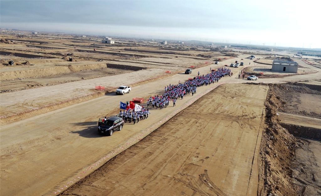 KUWAIT-JAHRA GOVERNORATE-CHINESE COMPANY-CGGC-NEW YEAR CELEBRATION