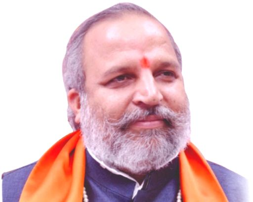 """Jai Bhagwan Goyal describes his political views as """"very liberal"""" on his Facebook page. But Goyal, who shot to fame after comparing Prime Minister Narendra Modi to Maratha icon Chhatrapati Shivaji, in real life fights """"for the rights of Hindutva"""", in - Narendra Modi"""