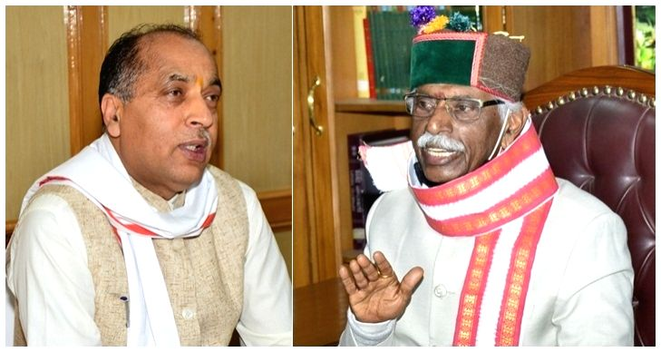 Jai Ram Thakur and Bandaru Dattatraya.