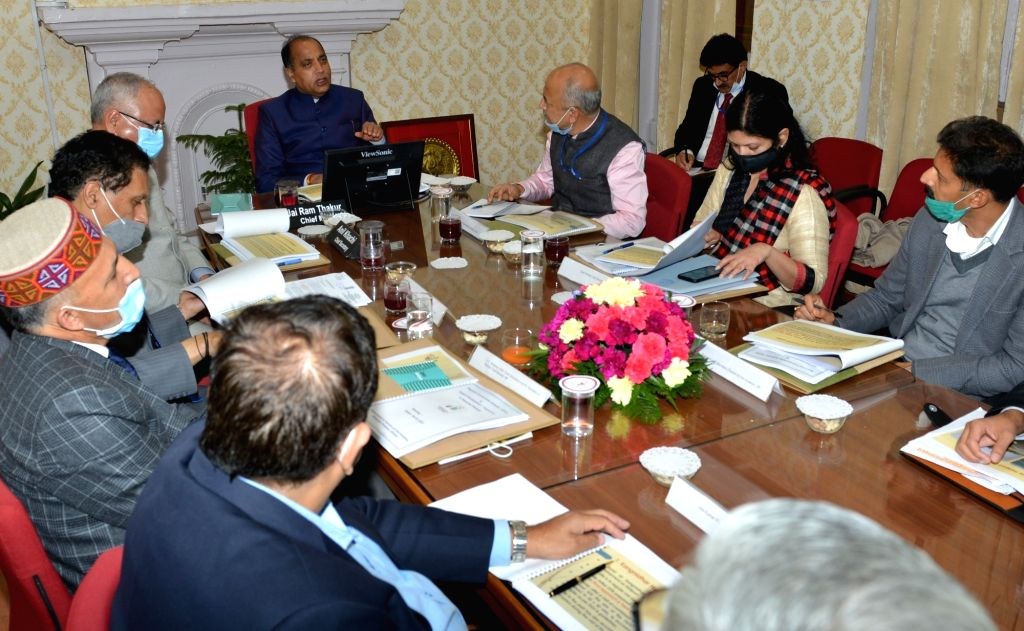 Jai Ram Thakur urges Union Ministry to expedite work on heliports in Stateon Saturday 06th March, 2021.