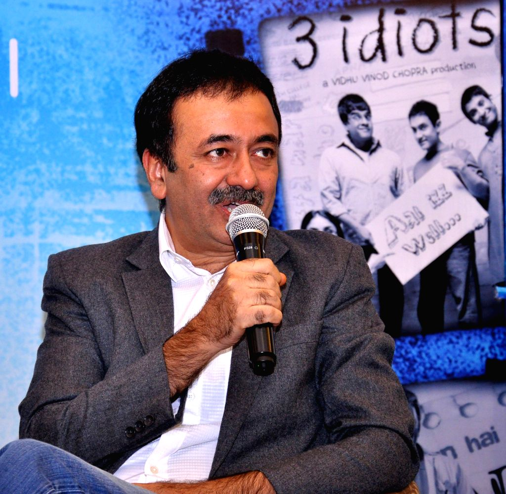 Filmmaker Rajkumar Hirani during an interaction with the members of  FICCI Ladies Organisation (FLO), Jaipur Chapter in Jaipur on Feb 14, 2015.