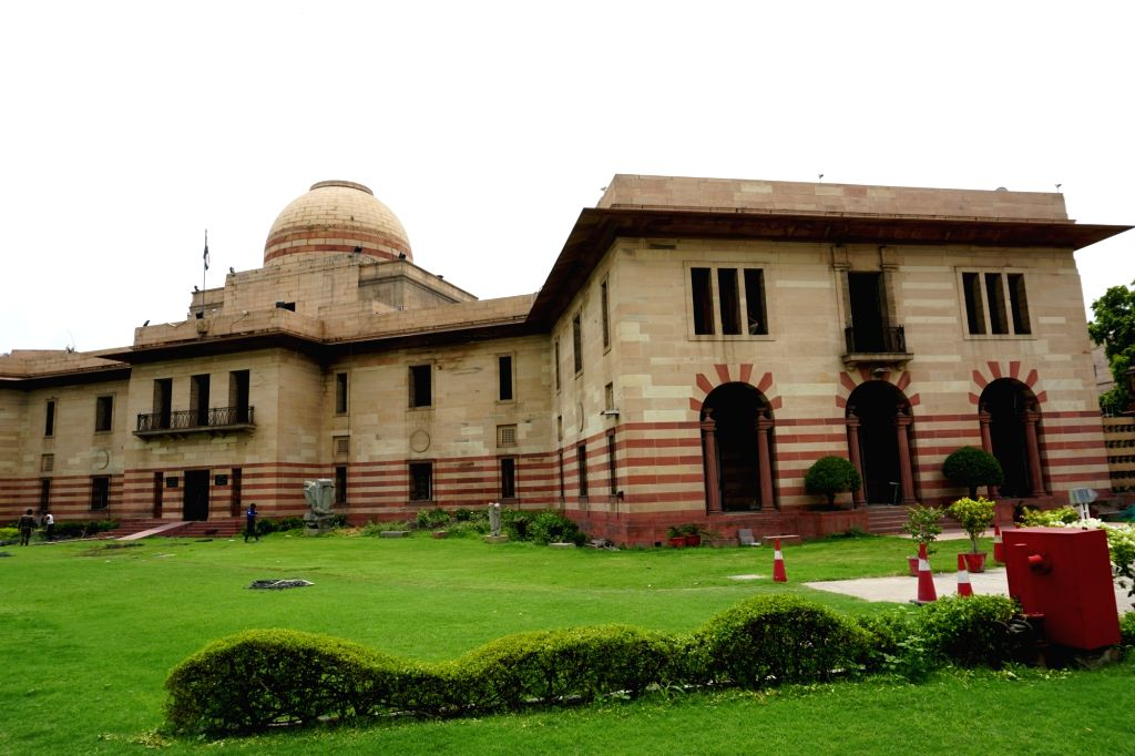Jaipur House building of National Gallery of Modern Art. (File Photo: IANS)