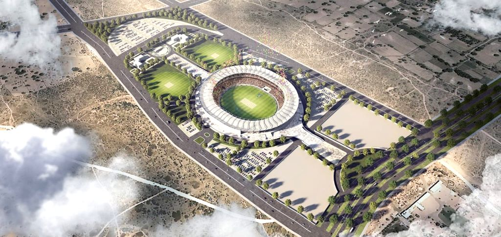 Jaipur to get world's 3rd largest cricket stadium with 75,000 capacity.
