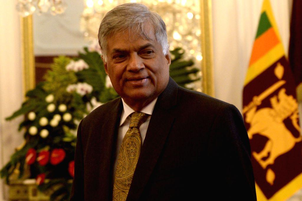 JAKARTA, Aug. 3, 2016 - Sri Lankan Prime Minister Ranil Wickremesinghe arrives at the Presidential Palace in Jakarta, Indonesia, Aug. 3, 2016. Sri Lankan Prime Minister Ranil Wickremesinghe held ... - Ranil Wickremesingh