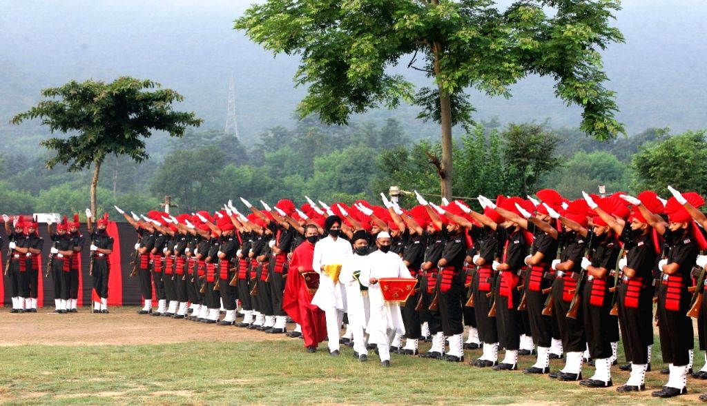 JAKLI passing out parade.