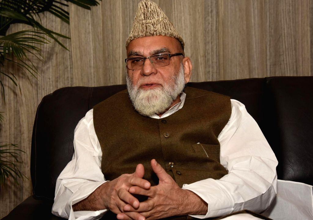 Jama Masjid's Imam Maulana Syed Ahmed Bukhari. (File Photo: IANS)