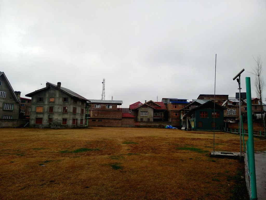 Jamaat-e-Islami office that was sealed by authorities in Jammu and Kashmir's Anantnag on March 2, 2019.