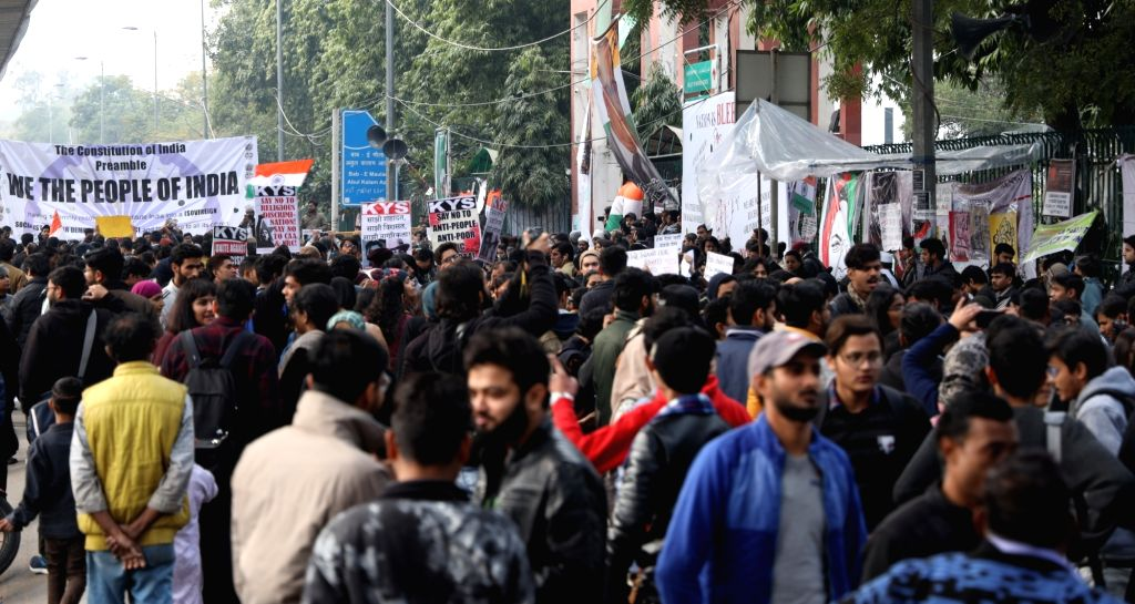 Jamia violence: Youth spotted in CCTV sent to police remand. (Photo: IANS)