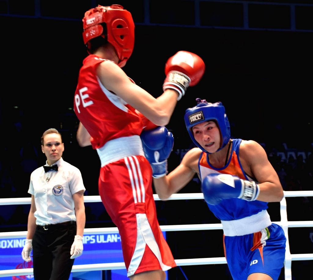 Jamina Boro lost her semi final match and settled for a Bronze medal at the AIBA World Boxing Championships in Russia on Oct 12, 2019.