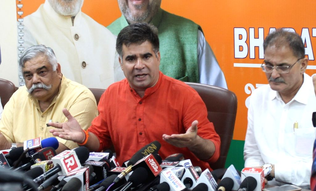 Jammu and Kashmir BJP State Chief Ravinder Raina. (Photo: IANS)