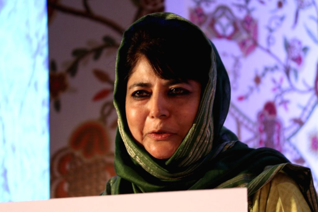 Jammu and Kashmir Chief Minister Mehbooba Mufti. (File Photo: IANS) - Mehbooba Mufti