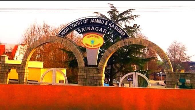 Jammu and Kashmir High Court .