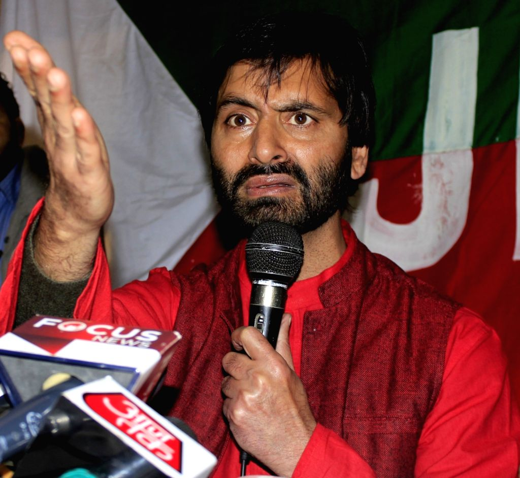 Jammu and Kashmir Liberation Front (JKLF) Chairman Muhammad Yasin Malik. (File Photo: IANS/PIB)