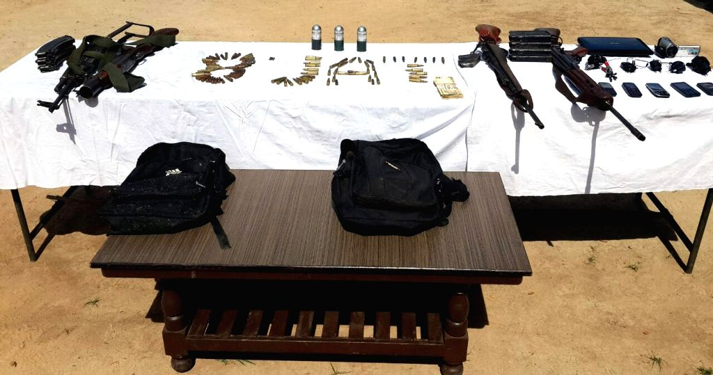 Jammu, July 4 (IANS) Security forces on Saturday recovered a large cache of arms and ammunition from J&K's Rajouri district.