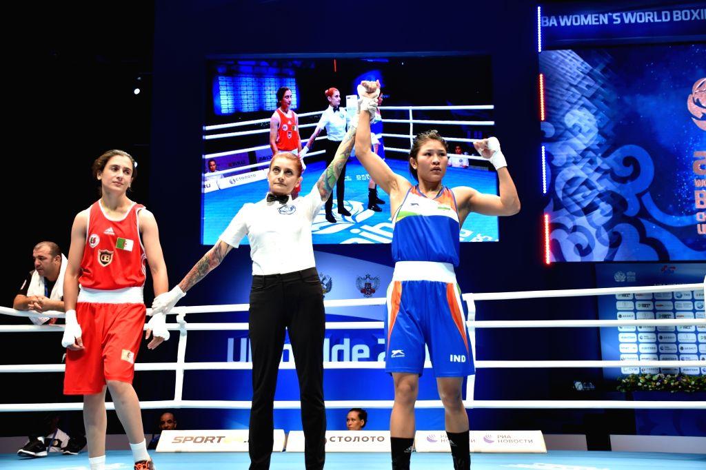 Jamuna Boro through to World Championships quarters