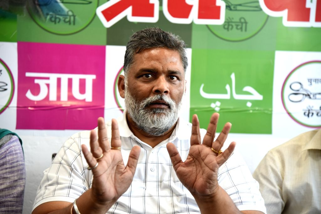 Jan Adhikar Party President Pappu Yadav on Sunday said that the Karni Sena people who had come from outside after the killings in Madhubani tried to create a frenzy in the society on Sunday, ... - Pappu Yadav