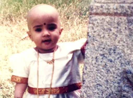 Janhvi Kapoor's toddler pic posted by Sridevi is wowing the fans. - Janhvi Kapoor