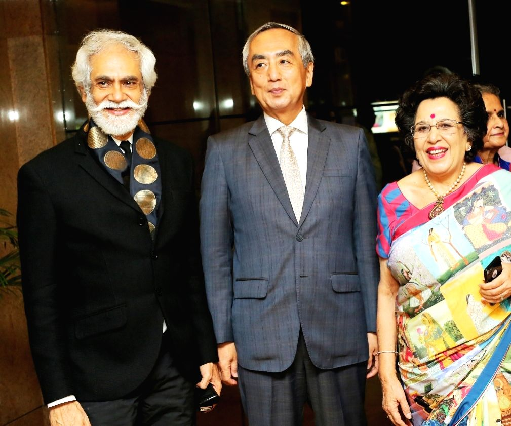 "Japanese Ambassador to the India, Kenji Hiramatsu at ""Unity in Diversity"" - FDCI's annual fashion show in New Delhi on Sept 16, 2018."