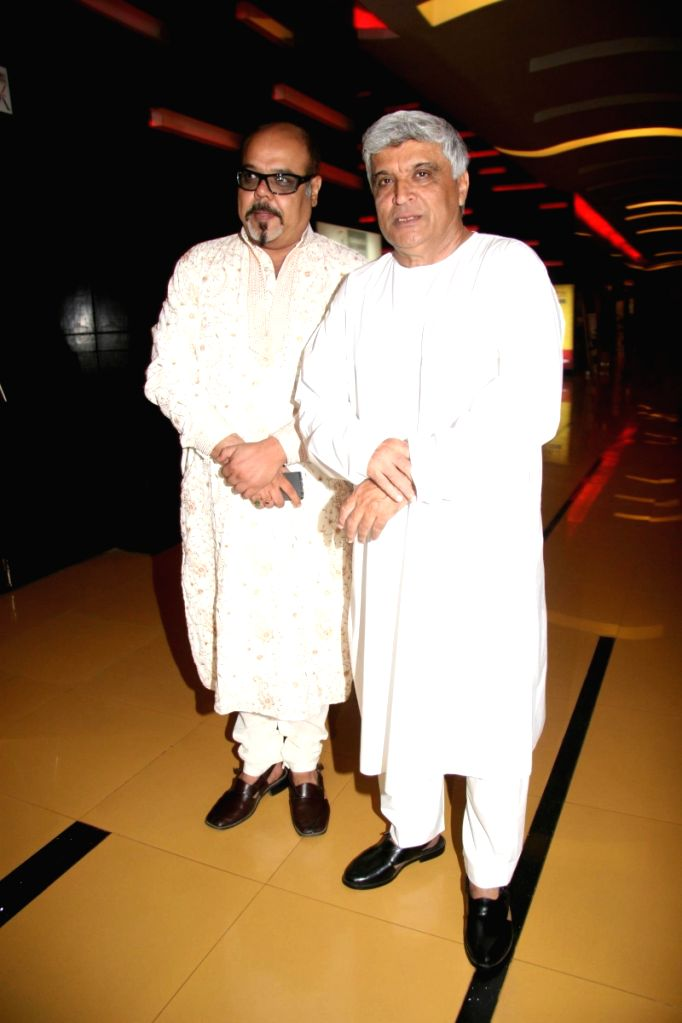 "Javed Akhtar at music launch of the movie ""Detective Naani"" in Mumbai on May 12th, 2009."