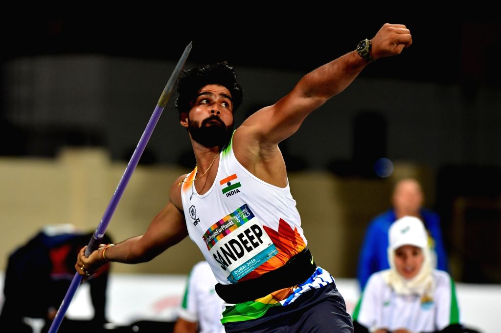 Javelin thrower Sandeep Chaudhary. - Sandeep Chaudhary