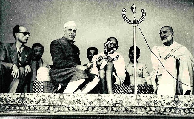 Jawaharlal Nehru.