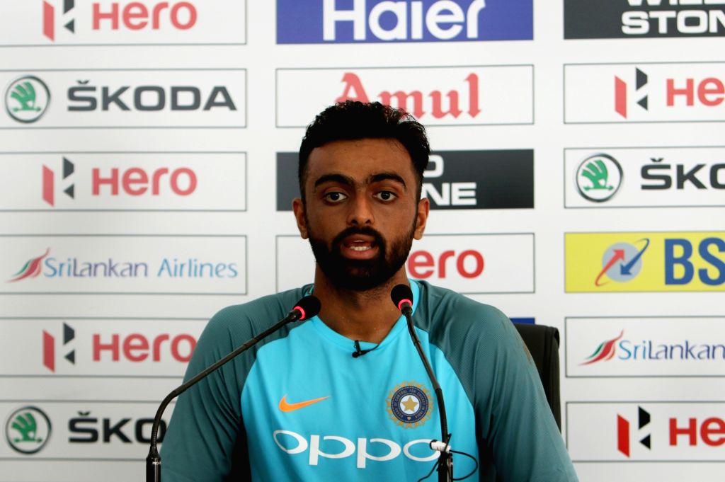 Jaydev Unadkat. (Photo: Surjeet Yadav/IANS) - Surjeet Yadav