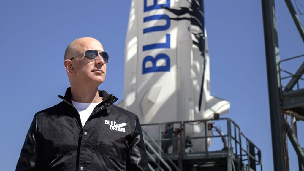 Jeff Bezos. (Photo: Courtesy, Blue Origin)