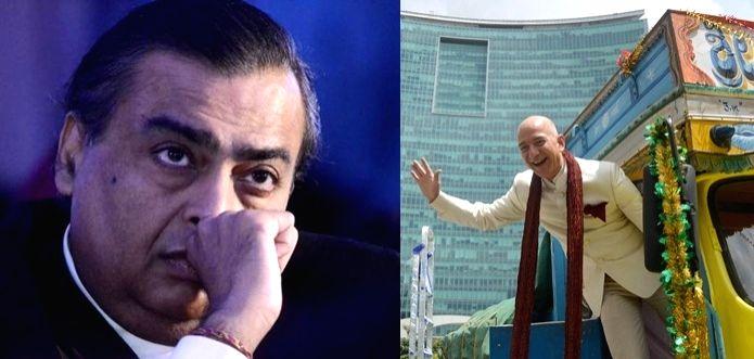 Jeff Bezos vs Mukesh Ambani: Battle royale for India's retail crown. - Mukesh Ambani