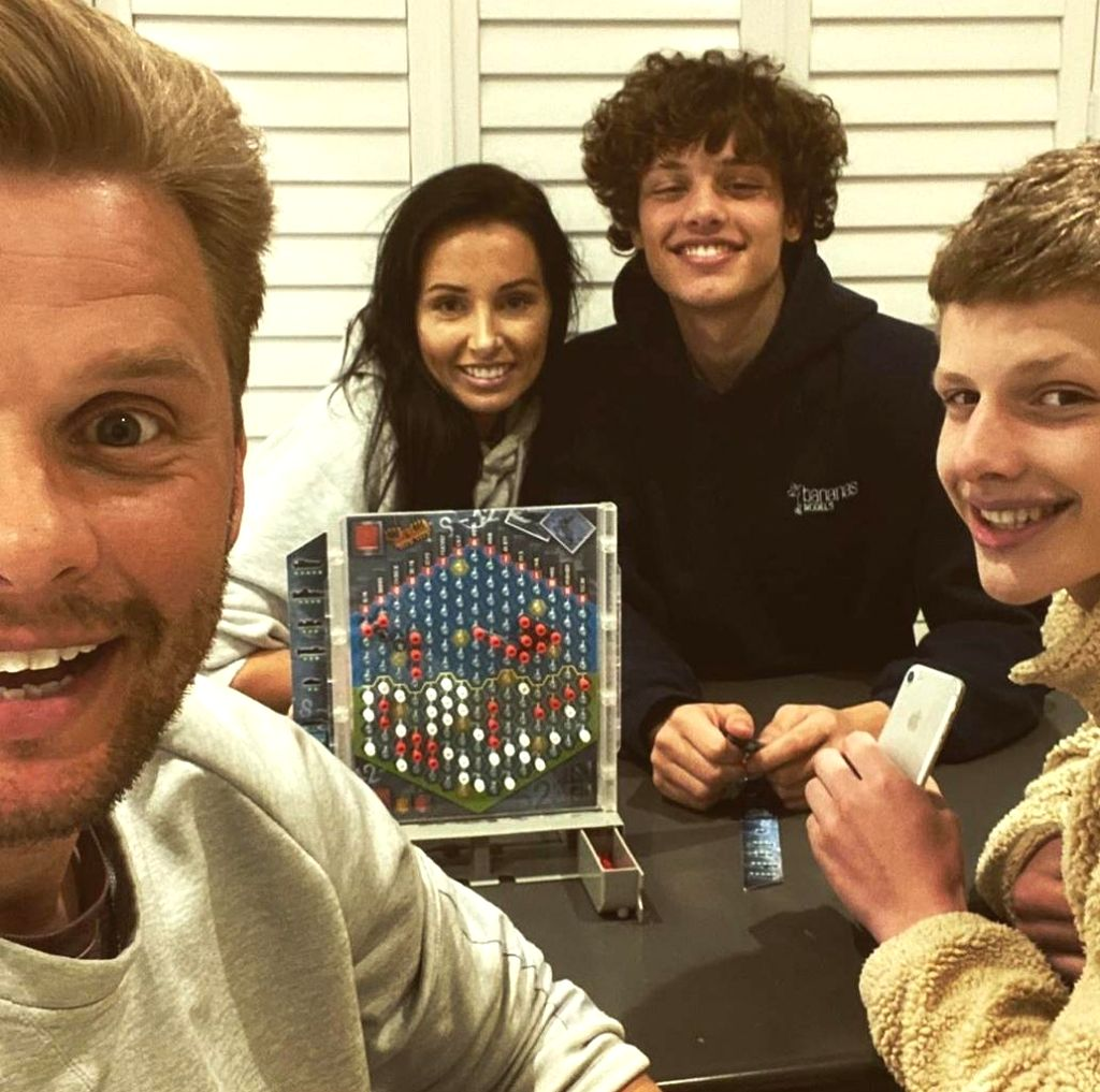 Jeff Brazier on lockdown's positive impact on his marriage.