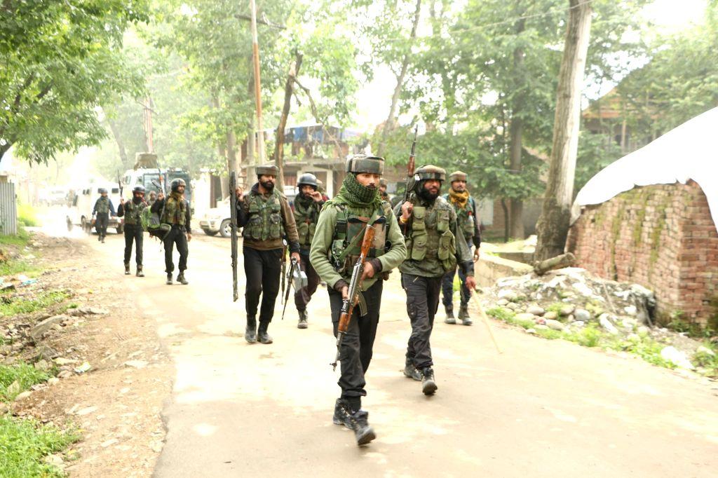 JeM militant killed in J&K gunfight. (Photo: IANS)