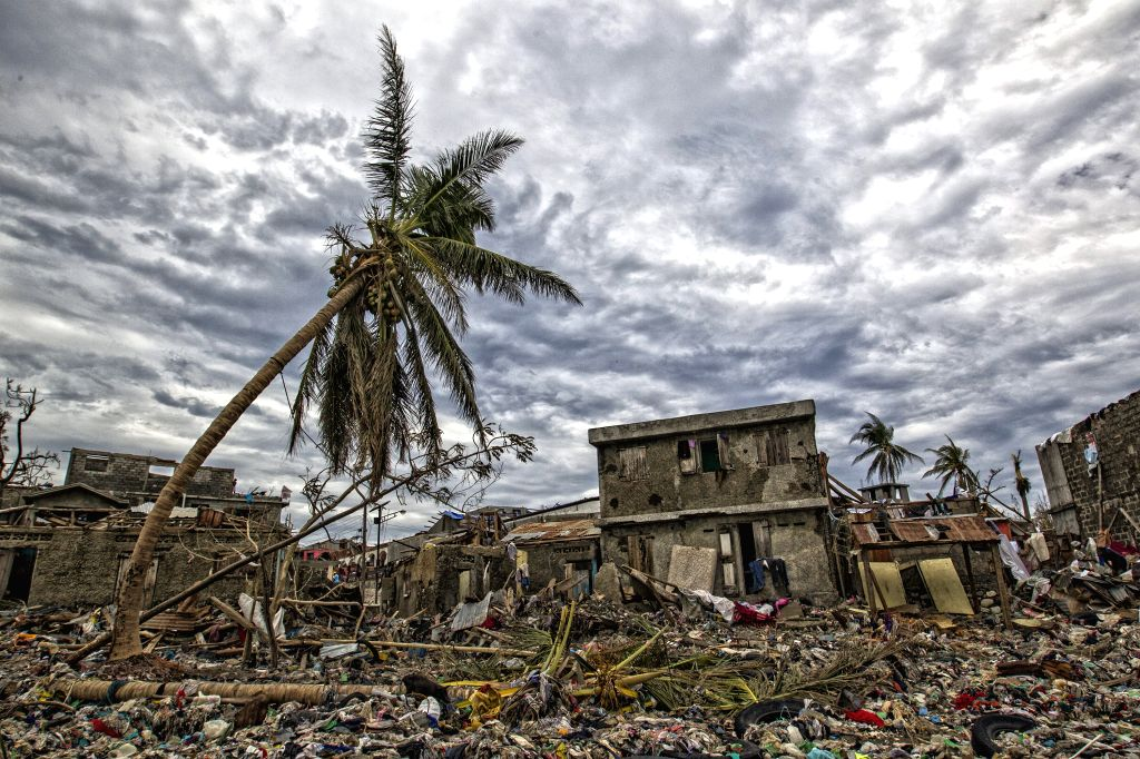 JEREMIE, Oct. 7, 2016 - Image provided by the United Nations Stabilization Mission in Haiti shows the debris left by Hurricane Matthew in Jeremie city, Haiti on Oct. 6, 2016. Haiti was hit hardest by ...