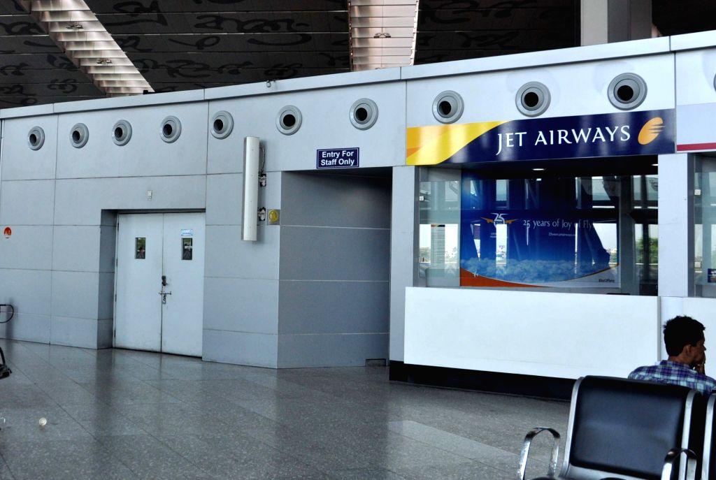 Jet Airways service counter. (File Photo: IANS)