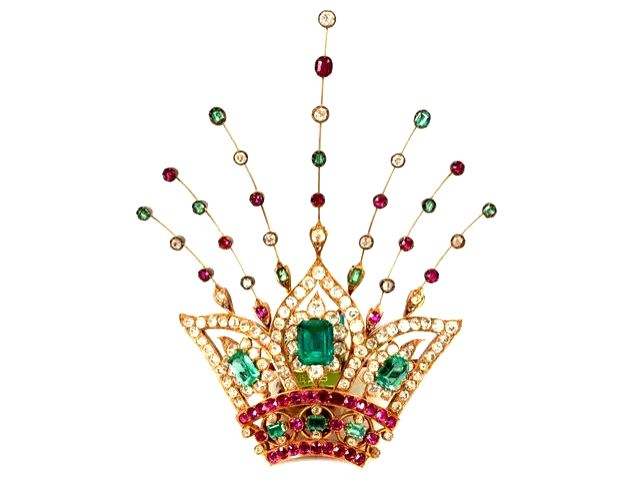 Jewels on view at the National Museum