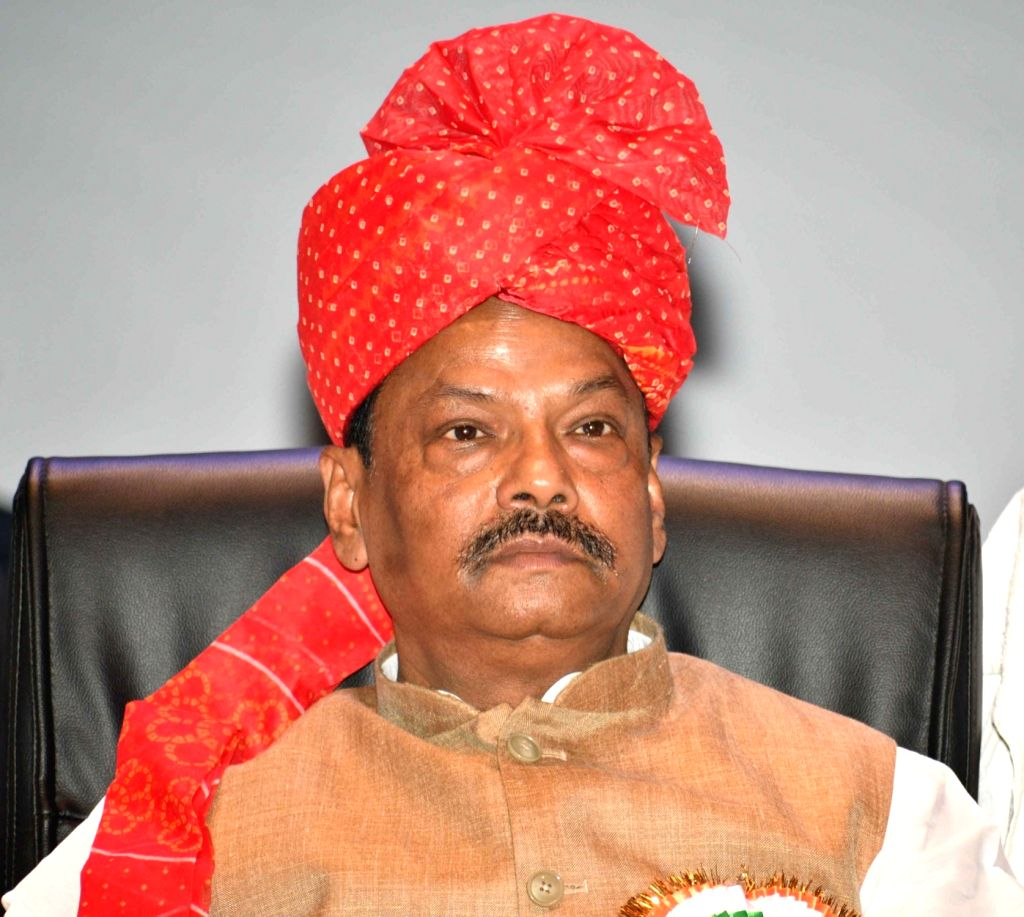 Jharkhand Chief Minister Raghubar Das during a programme in Patna on Aug 5, 2018. - Raghubar Das
