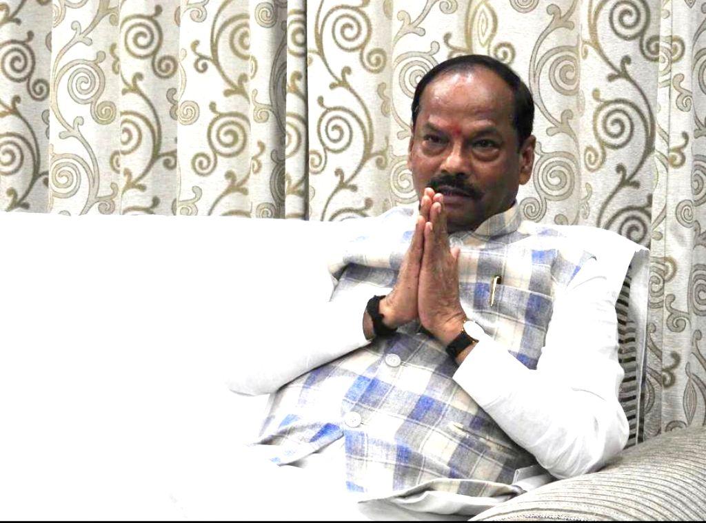 Jharkhand Chief Minister Raghubar Das during an interview with IANS. - Raghubar Das