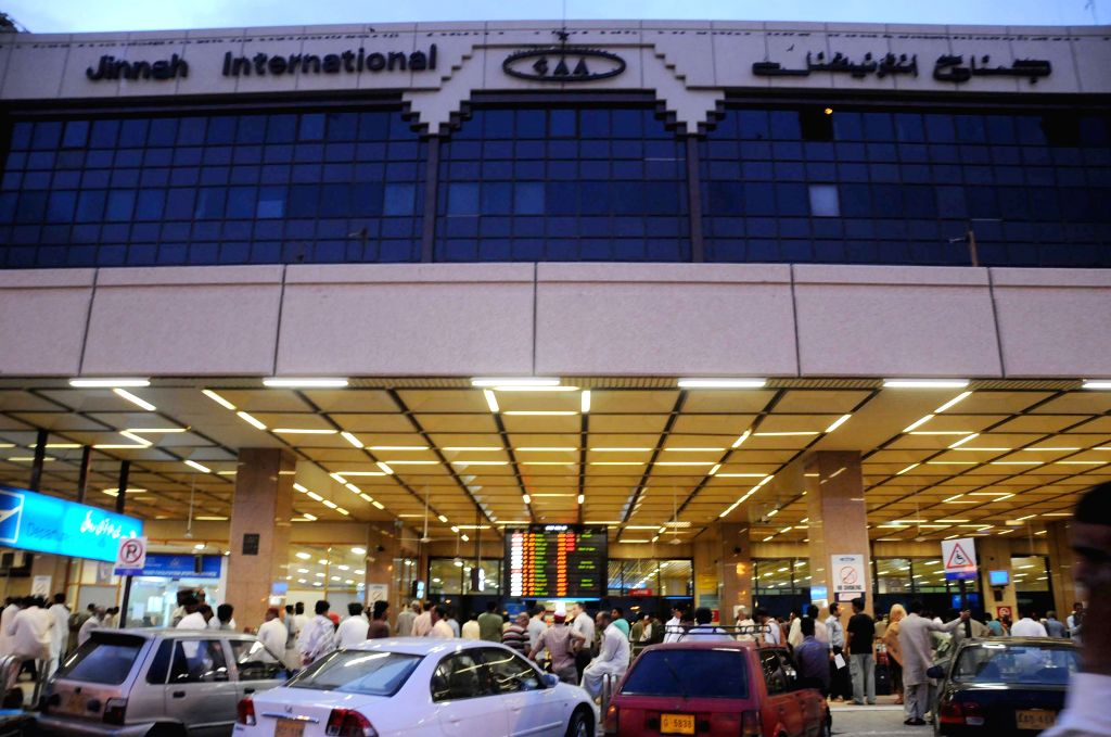Jinnah International Airport. (Xinhua/Masroor/IANS)