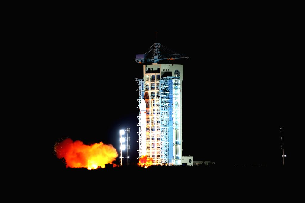 JIUQUAN, Aug. 16, 2016 - China launches the world's first quantum satellite on top of a Long March-2D rocket from the Jiuquan Satellite Launch Center in Jiuquan, northwest China's Gansu Province, ...