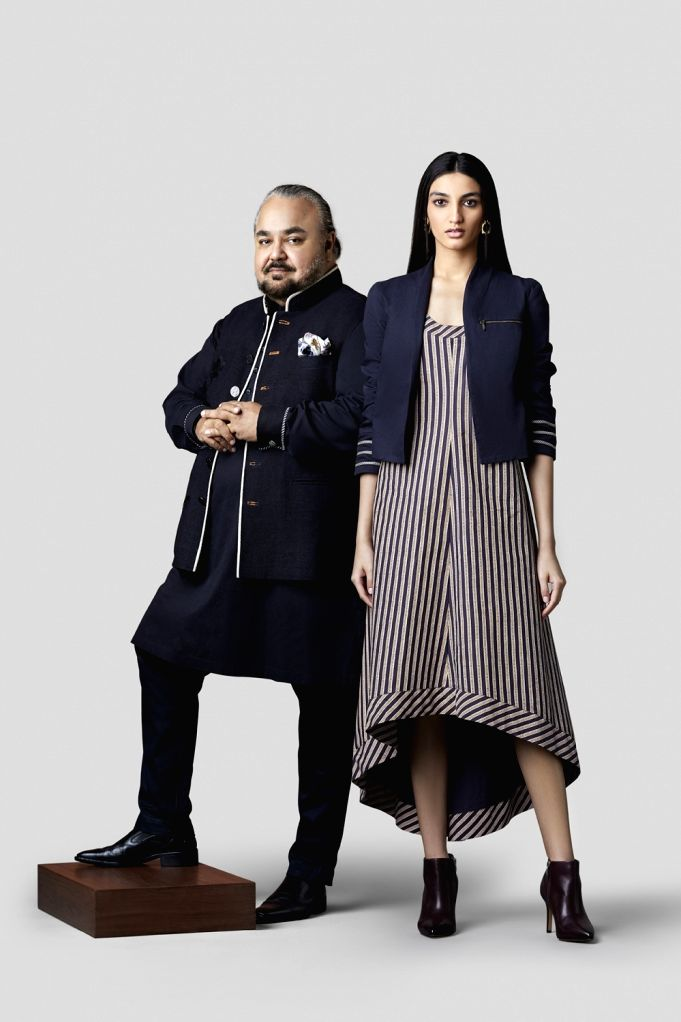 JJ Valaya says his designs reflect his DNA in the version of 'Royal Sport'.