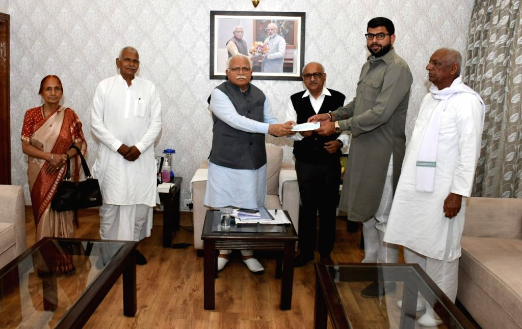 JJP donates Rs 51 Lakh from party fund.