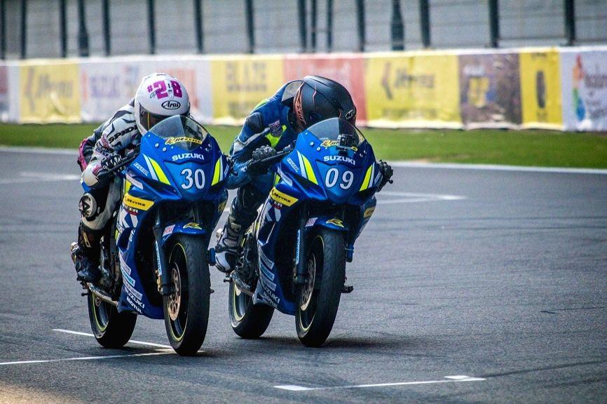 JK Tyre Suzuki Gixxer Cup.