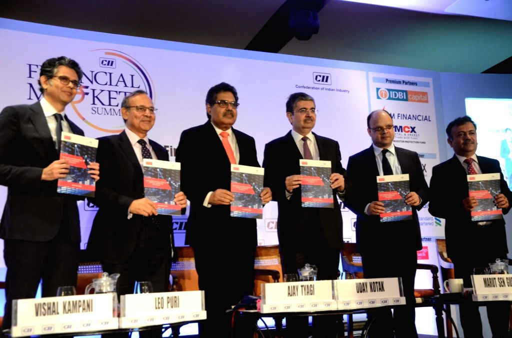 JM Financial Group MD Vishal Kampani, UTI Mutual Fund CEO Leo Puri, Securities and Exchange Board of India (SEBI) Chairman Ajay Tyagi, Kotak Mahindra Bank MD and CEO Uday Kotak and ...
